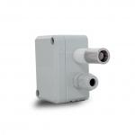 ELSNER 70184 KNX TH65-AP Thermo-Hygrometer für Innen und Außen