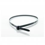Kabelbinder UV-beständig schwarz 160 x 4,8 mm