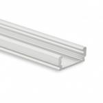 GALAXY profiles 8106012 PL1 LED Aufbau- Profil flach Länge=2000mm