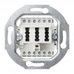 GIRA 003202  TAE-Anschlussdose TAE 2 x  6/6 NFF weiß