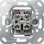 GIRA 015800 Einsatz Wipp-Jalousietaster 10 AX 250 V~