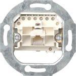 Gira 017900 Rutenbeck ISDN Anschlussdose Cat.3, 1-fach, 1x8-polig