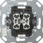 GIRA 018500 KNX/EIB Taster-Busankoppler 2fach mit Zweipunktbedienung