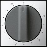 GIRA 0640605 Abdeckung mit Knebel für Zeitschalter Chrom