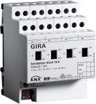 Gira 100400 KNX/EIB Schaltaktor 4fach 16 A mit Handbetätigung