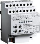 Gira 103700 KNX/EIB Schaltaktor 8fach 16 A/ Jalousieaktor 4fach 16 A
