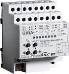 Gira 103900 Jalousieaktor 4fach 230 V AC / 12-48 V DC mit Handbetätigung