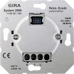 GIRA 114800 Relais-Einsatz potenzialfrei verbrauchern in 3-Draht-Anschlusstechnik