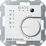 GIRA 210003 KNX Stetigregler mit Tasterschnittstelle 4fach Reinweiß glänzend