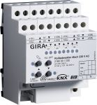 GIRA 216000 KNX/EIB Rollladenaktor 4fach 230V mit Handbetätigung