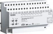GIRA 216100 Jalousieaktor 8fach 230 V AC / 12-48 V DC mit Handbetätigung