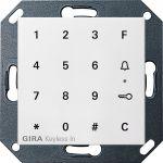 GIRA 260503 Keyless In Codetastatur Reinweiß glänzend