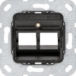 GIRA 560500 Tragring Modular Jack 2fach MJ-05