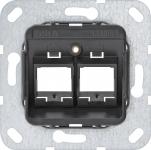 GIRA 560600 Tragring Modular Jack 2fach MJ-06