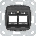 GIRA 561000 Tragring Modular Jack 2fach MJ-10
