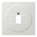 GIRA 027640 TAE, Stereo und USB Abdeckung Reinweiß