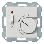 GIRA 039303 Raumtemperatur-Regler 24V Reinweiß glänzend