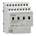 GIRA 104500 Schaltaktor 4f 16 A mit Hand betätigung und Strommessung für C-Lasten