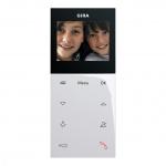 GIRA 123903 Wohnungsstation Video Aufputz Plus Reinweiß glänzend
