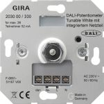 GIRA 203000 DALI-Potentiometer Tunable White