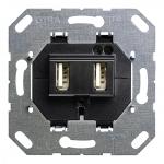 GIRA 235900 Einsatz USB-Spannungsversorgung 2fach