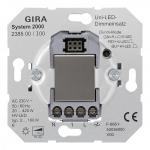 GIRA 238500 Uni-LED-Dimmeinsatz (Tastdimmer)