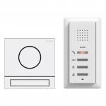 GIRA 2406902 Einfamilienhaus-Paket Audio Verkehrsweiß (lackiert)