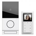 GIRA 2416902 Einfamilienhaus-Paket Video Verkehrsweiß (lackiert)