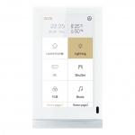 GVS CHTF-5.0/15.3.22 V50-W Touchpanel vertikal Weiß