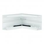 TEHALIT L87719010 Inneneck aus Grundprofil zu BR 70x130mm PVC Reinweiß