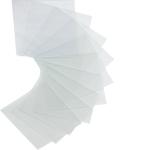 HAGER RXE01D Ersatzgläser für Druckknopfmelder 10 Stück