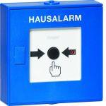 HAGER TG558A Funk-Druckknopfmelder für TG55xA, Hausalarm, blau