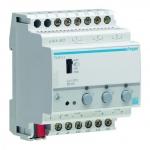 HAGER TX211A Schalt-/Dimmaktor 3-fach KNX 1-10V