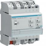 HAGER TXA604D Schalt-/Jalousieaktor KNX easy 16A C-Last 4/2-fach