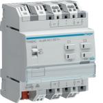HAGER TXA624C Rollladen-/Jalousieaktor KNX easy 230V 4-fach