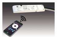 HERA 61500051401 Dimm-Controller ZigBee 24V 100W mit 12fach-Verteiler