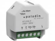 HUGOMÜLLER 673834rf KNX Dimmer für DALI oder LED Leuchten Paladin