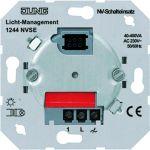 """JUNG 1244 NVSE NV-Triac-Schalteinsatz """"lautloses Schalten"""" 40-400W"""