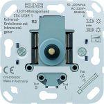JUNG 254 UDIE1 Universal-Drehdimmer 50-420W mit Inkrementalgeber