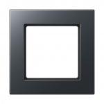 JUNG A5581BFANM Rahmen anthrazit matt 1-fach