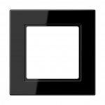 JUNG A5581BFSW Rahmen schwarz 1-fach