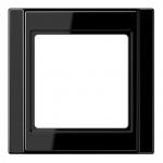 JUNG A 581 SW Rahmen schwarz 1-fach