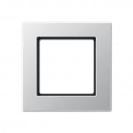 JUNG AC 581 AL Rahmen aluminium 1-fach
