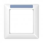 JUNG AS 581 BF INA WW Rahmen mit Fenster (sprühnebeldicht) 1-fach