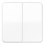 JUNG CD1702WW Steuertaste 2-fach Standard Alpinweiß glänzend (hochkratzfest)