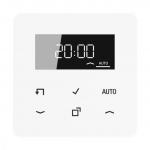 JUNG CD 1750 D WW Timer Standard mit Display Alpinweiß
