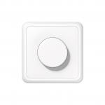 JUNG CD5544.03VWW Drehdimmer LED mit Dreh-Ausschalter Alpinweiß