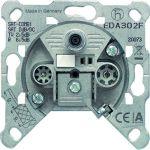 JUNG EDA 302 F Antennenanschlussdose 3-Loch Universal-Sat/BK-Dose