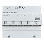 JUNG SW 5 REG 5-Port-Switch REG-Gehäuse 6 TE