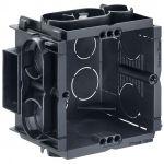 KAISER 7501 Q-range Gerätedose, Unterputz, 50 mm Tiefe ohne Schrauben